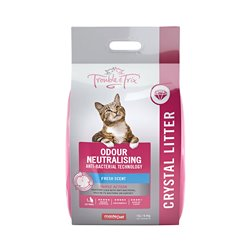 Trouble & Trix Antibacterial Cat Litter Crystals