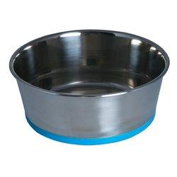Rogz Slurp Stainless Steel Bowl (Blue)