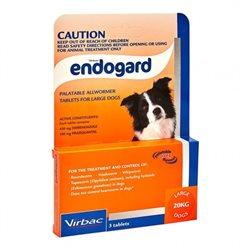Virbac Endogard Dog 20kg 3Tabs