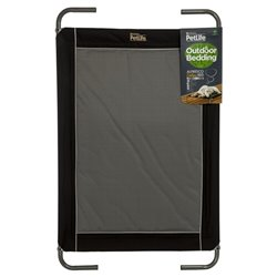 Petlife Alfresco Deluxe Bed Black