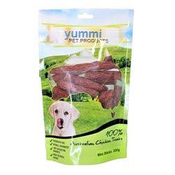 Yummi Chicken Mini Sticks 200g