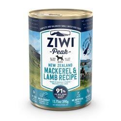 ZiwiPeak Wet Mackeral & Lamb Recipe for Dogs 390g