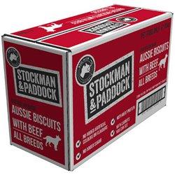 Stockman & Paddock Baked Aussie Biscuits Beef 10kg