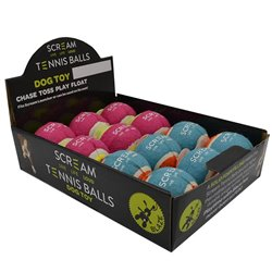 Scream Tennis Ball (Assorted Colours)