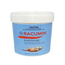 Bayer Racumin Rat and Mouse Paste Poison 2kg (200 x 10g)