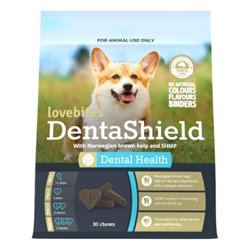 Vetafarm Lovebites Dentashield Chews 30pk
