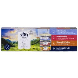 Ziwi Peak Canned Provenance Multipack 6x85g