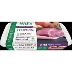 Natural Animal Solutions RAW Fresh Duck 900g Frozen (WAREHOUSE PICK UP ONLY)
