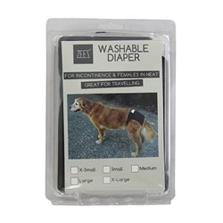Zeez Washable Diaper X-Small (Waist 20-26cm)