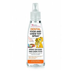 Petkin Dental Food & Chew Toy Spray 120mL