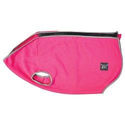 ZEEZ Cozy Fleece Vest Ruby Pink
