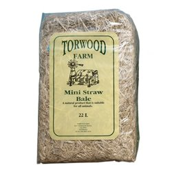 Torwood Farm Mini Straw Bale 22L (WAREHOUSE PICK UP & SYDNEY DELIVERY ONLY)