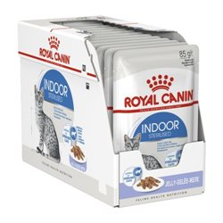 Royal Canin Indoor Sterilised Wet Food for Cats in Jelly