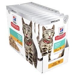 Science Diet Feline Perfect Weight Tender Chicken Pouches Wet Food