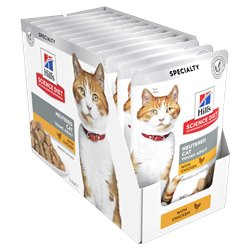 Science Diet Feline Young Adult Neutered Chicken Pouches Wet Food