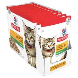 Science Diet Kitten Chicken Pouches Wet Food