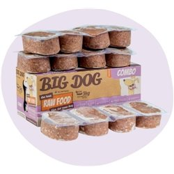 Big Dog Combo Raw Dog Food (12x250g/3kg)
