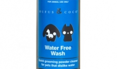 Wash your pet without the water using Water Free Wash Dry Shampoo